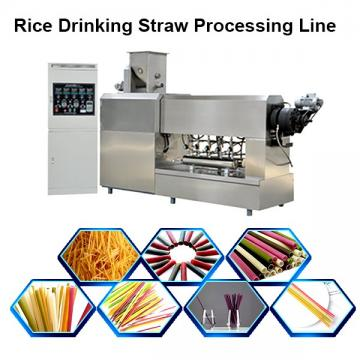 Customized Multi Color New Degradable Rice Drinking Straw Processing Line