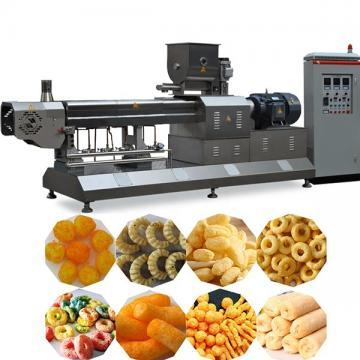 Puffed Rice Popper Soybean Powder Snack Food Extruder Making Machine